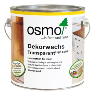 Масло OSMO Dekorwachs Transparent