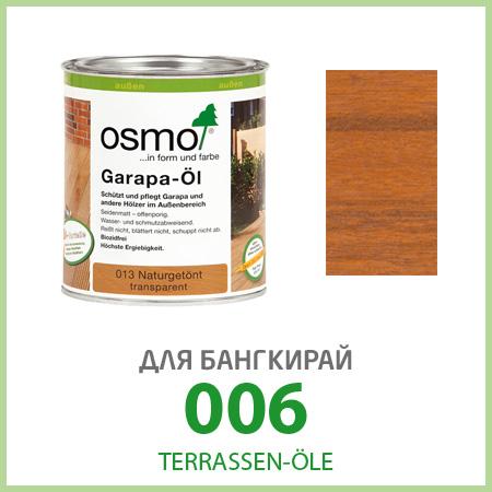 Масла для террас Terrassen-Öle для бангкирай 006