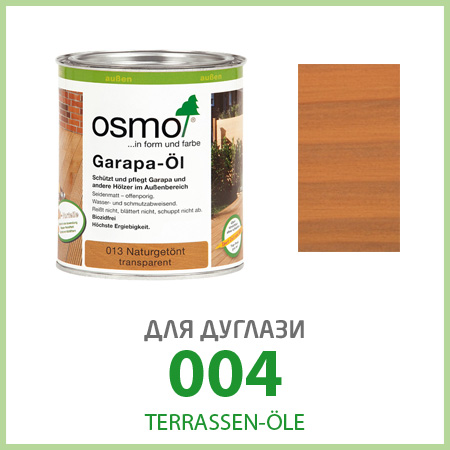 Масла для террас Terrassen-Öle для дуглази 004