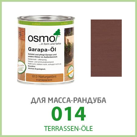 Масла для террас Terrassen-Öle для масса-рандуба 014