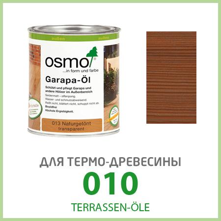 Масла для террас Terrassen-Öle для термо-древесины 010