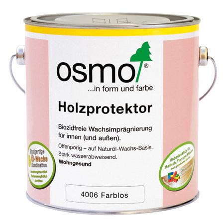 Osmo HOLZPROTEKTOR, бесцветная пропитка 4006